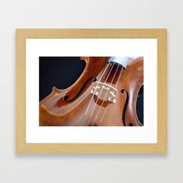 Cello Admiration Framed Art Print