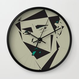 Julio Cortazar Wall Clock