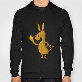 donkey with taco Hoody