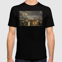 Tennis Court Oath T-shirt