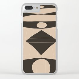 Marble Foyer Clear iPhone Case