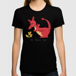 St. Davids Day Red Dragon T-shirt