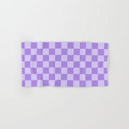 Lavender Check Hand & Bath Towel