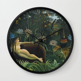The Dream, Henri Rousseau Wall Clock