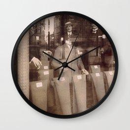 Eugène Atget - Avenue des Gobelins Wall Clock