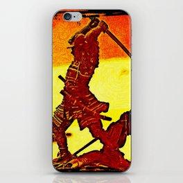 Ronin Red iPhone Skin