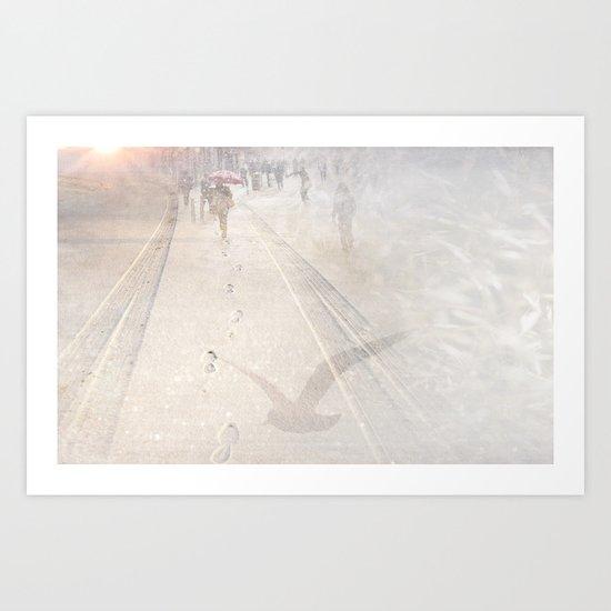 Going towards winter Art Print