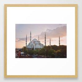 Istabul views Framed Art Print
