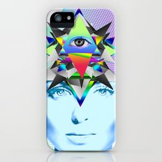 Psychedelic Woman Slim Case iPhone (5, 5s)