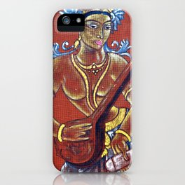 Saraswati - Musical iPhone Case