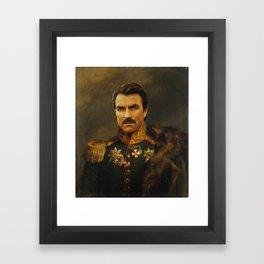 Tom Selleck - replaceface Framed Art Print