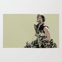 daryl Area & Throw Rugs featuring Daryl Dixon by Huebucket