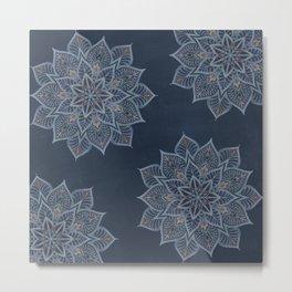 Essence - Stamp blue/multi Metal Print