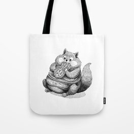 Fat Hamster Tote Bag