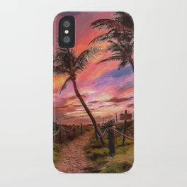 Mystery Pathway iPhone Case