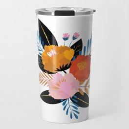 Bold Floral Travel Mug