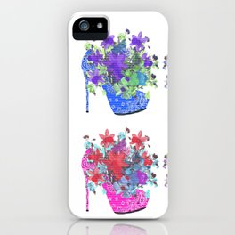 Blooming Shoes iPhone Case