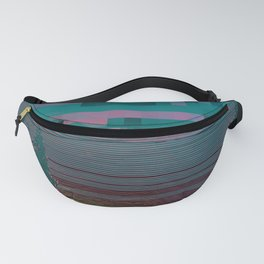 Pixilated Reality Fanny Pack