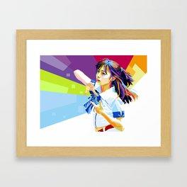 Kanna chan Framed Art Print