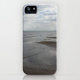 The Never Ending Beach and Sky iPhone Case