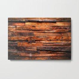 Beautifully Aged Wood Texture Metal Print