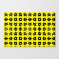 Yellow Custom Pattern Canvas Print