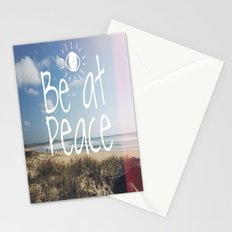Be at peace Stationery Cards