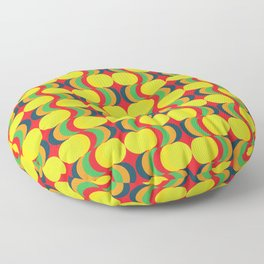 Colorful Circles Floor Pillow