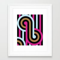 infinity Framed Art Prints featuring Infinity by Michelle Nilson