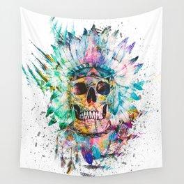 SKULL - WILD SPRIT Wall Tapestry
