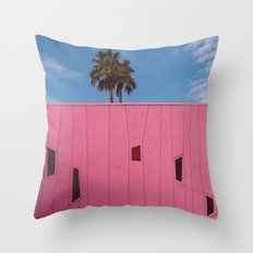 Palm Springs Vibes III Throw Pillow