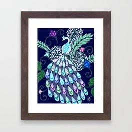 Moonlark Garden Framed Art Print