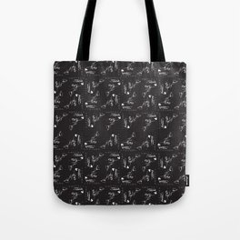 Wolfpack (small pattern) Tote Bag