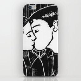A Kiss iPhone Skin