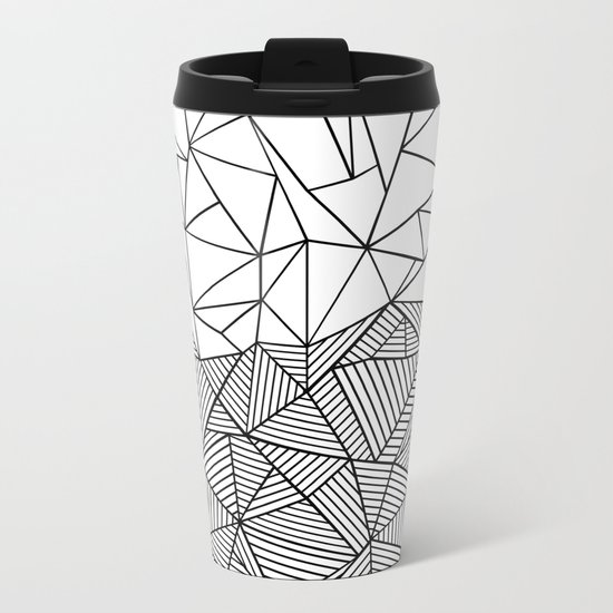 Ab Half n Half Metal Travel Mug