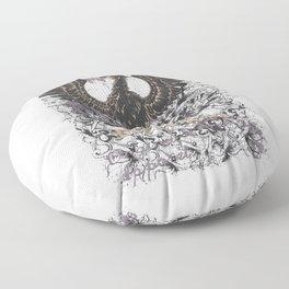 Requiem Griffin and Grunges Floor Pillow