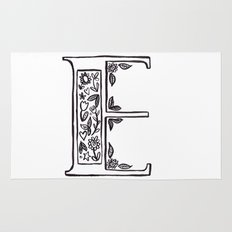 E is for Rug