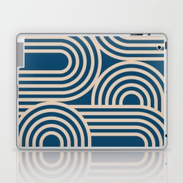 Abstraction_WAVE_GRAPHIC_VISUAL_ART_Minimalism_001 Laptop & iPad Skin