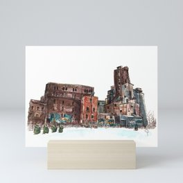 Canadian Malting Factory Mini Art Print