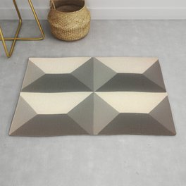 Original Geometric Design by Dominic Joyce Rug