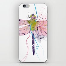 Dragonfly01 iPhone & iPod Skin