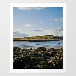Paradise Island in Scotland Art Print