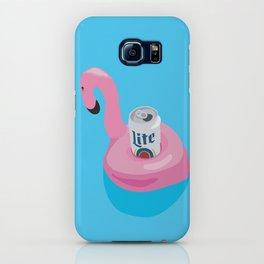 FLAMINGO LITE iPhone Case