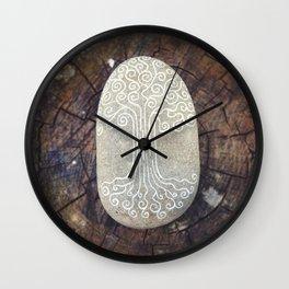 Spiritual symbol. Tree of Life. Wall Clock