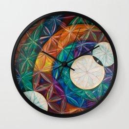 Tetrahedral Nodes Wall Clock