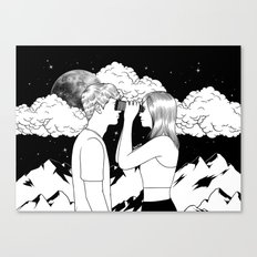 Exploring you Canvas Print