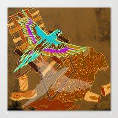 PARROTHEADS Canvas Print