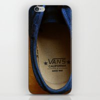 vans iPhone & iPod Skins featuring Vans California by RaySnaps