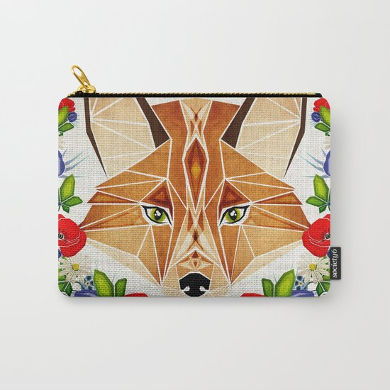 spring fox  Carry-All Pouch