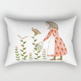 book harvest Rectangular Pillow